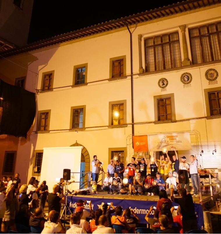 Finale strepitoso del Campionato Italiano Velocità in Salita (CIVS) FMI a Pieve S. Stefano